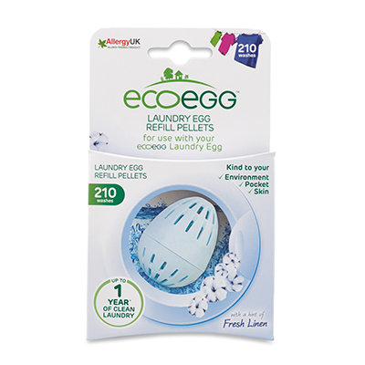 ecoegg Laundry Egg Refills 210 washes - Fresh Linen