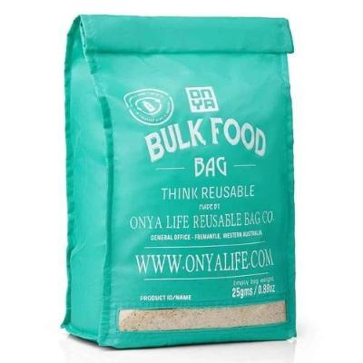 Onya bulk food bag large Aqua