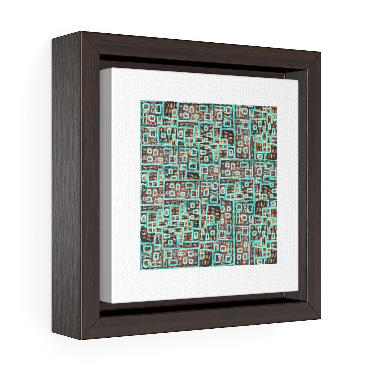 Square Framed Premium Gallery Wrap Canvas