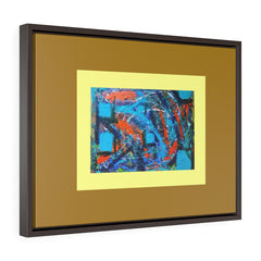 Horizontal Framed Premium Gallery Wrap Canvas