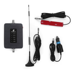 Cell Phone Signal Booster 700/850/1900/1700MHz 45dB 2G 3G 4G Wireless Repeater for Car Use