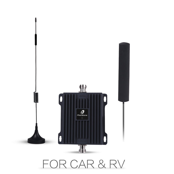 Telephone Signal Booster Car Kit for Veriozn 4G Single 700MHz PTE-L45V-Phonetone