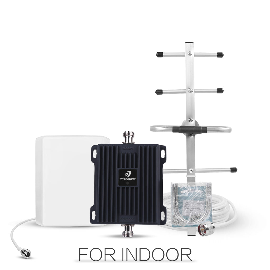 Cell Phone Signal Booster Dual Band 700MHz Yagi and Panel Antenna-PTE-L65VA -Phonetone