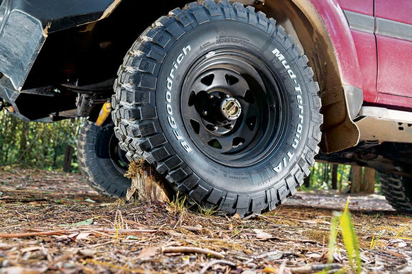 Upsizing your tyres Hema Maps