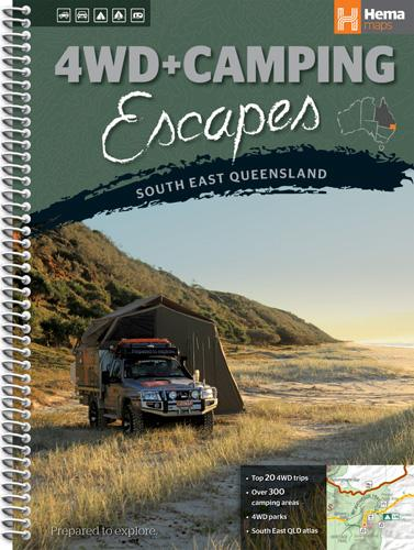 A Product Overview of the 4WD + Camping Escapes South East Queensland from Hema Maps