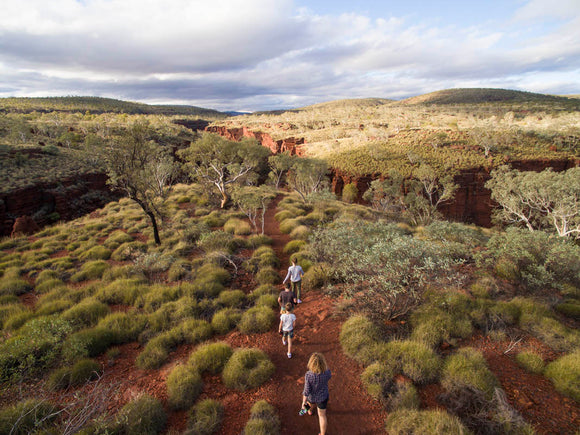 Huge boost to RV tourism in WA_Karijini National Park in Western Australia is one of many parks that will benefit from a boost in spdning to cater for domestic tourism, Outdoor News & Events, November, Hema Maps