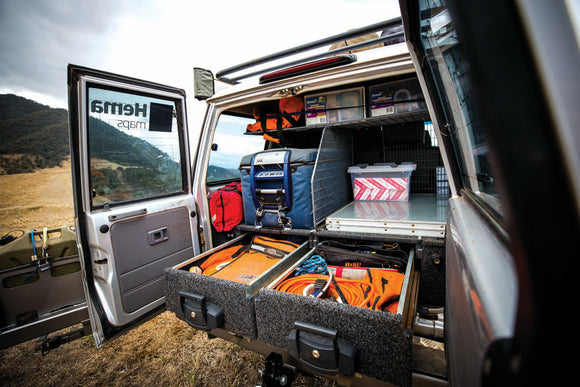 4WD packing and racking safety tips
