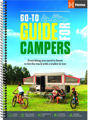 A Product Overview of the Go-To-Guide for Campers from Hema Maps