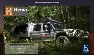 Hema U - Online Training Program Schedule - Nov and Dec 2020
