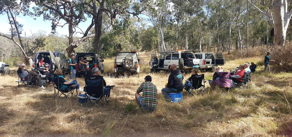 The Queensland 4x4 Club dates back to the early 70s