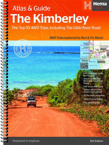 A Product Overview of the Kimberley Atlas & Guide (6th Edition) from Hema Maps