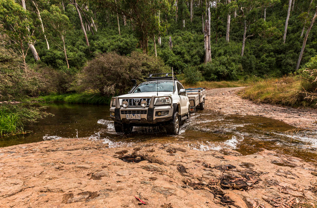 After taking a towing course, you'll have no worries heading off-road