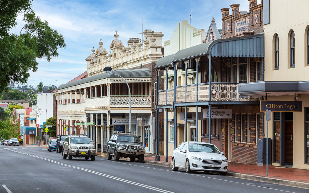 The town of Armidale, NSW