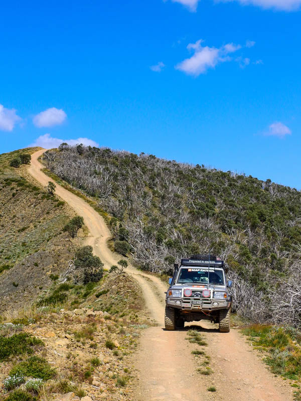 Blue Rag Range Track Hema Maps Hema's Top 5 Victorian High Country 4X4 drives