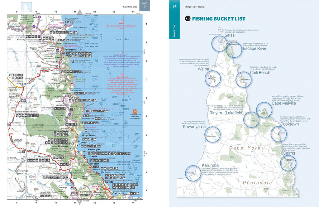 Cape York Atlas & Guide Map 4 page 34.