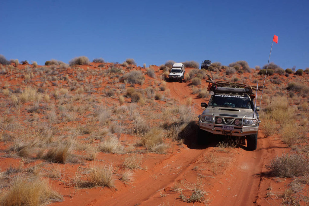 Into the heart of the desert, crossing the dunes and driving the Madigan Line Hema Maps