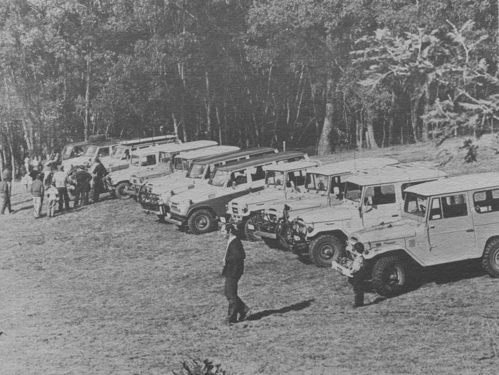 One of the clubs very first 4WD trips