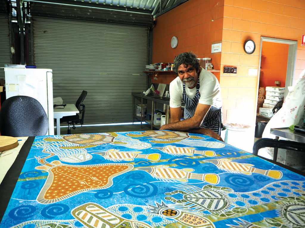 Yarrabah, Art by the Coral Sea