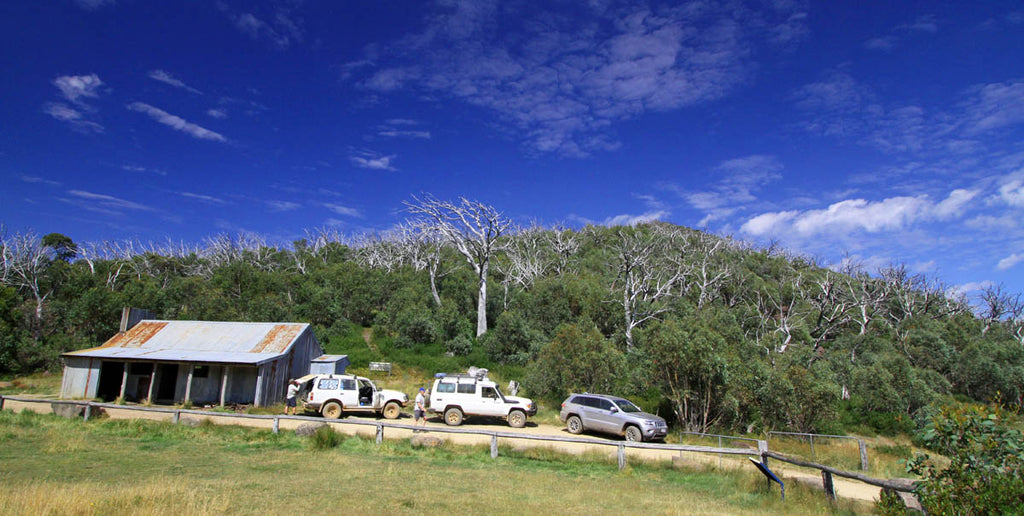 Australia's alpine regions stand a collection of huts