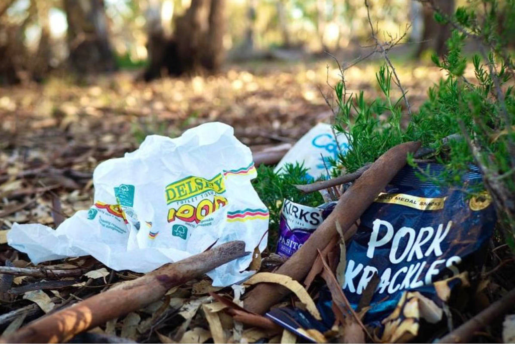 Rubbish left behind Credit ABC Riverland.