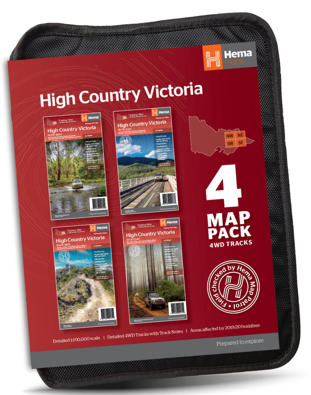 Hema Maps Launch New Victorian High Country Map Pack