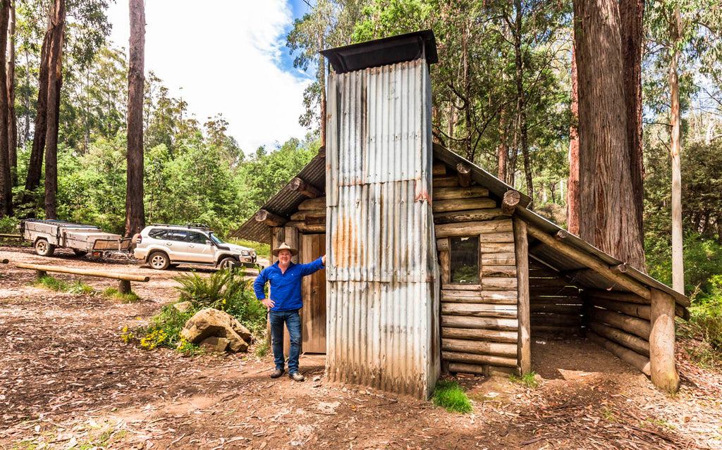 Tomahawk Hut is an old forestry classic.