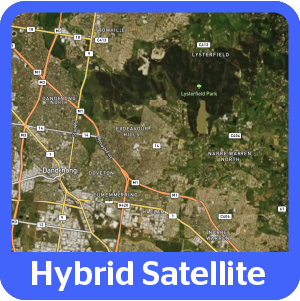 4x4 Explorer App Map Hema Hybrid Satellite Map Style
