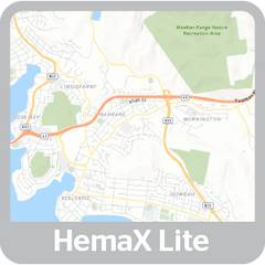 4x4 Explorer App Map HemaX Lite Map Style
