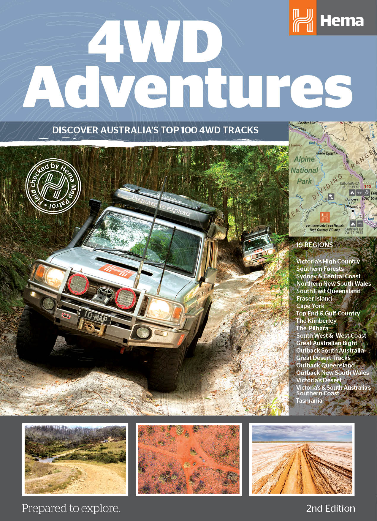Western Australia 4wd Map.4wd Adventures Hema Maps
