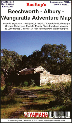 Beechworth - Albury - Wangaratta Adventure Map