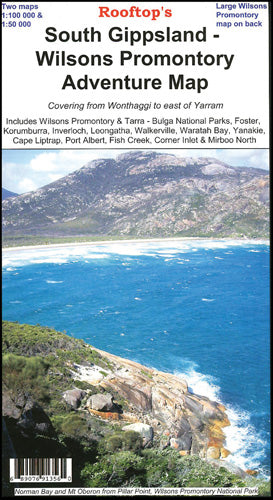 South Gippsland - Wilsons Promontory Map