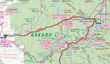 Top End National Parks Map: Litchfield, Katherine & Kakadu