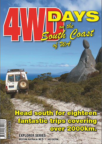 Western Australia 4wd Map.4wd Days On The South Coast Of Wa Guidebook Hema Maps