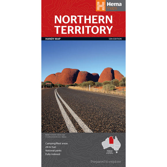 Northern Territory Handy Map OE