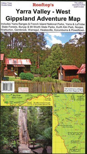 Yarra Valley - West Gippsland Map