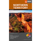 Northern Territory State Map - OE