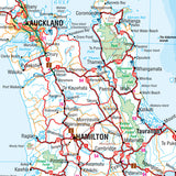 New Zealand Map Laminated 700x1000mm
