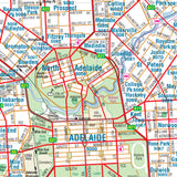 Adelaide & Region Map - 700x1000 - Laminated