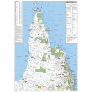 Cape York Supermap Unlaminated 1000x1400mm