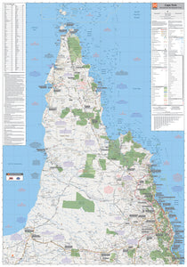 Cape York Supermap - 1000x1430 - Laminated