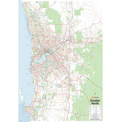 Perth & Region Supermap Unlaminated 1000x1400mm