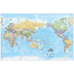 World Supermap Unlaminated 1520x990mm