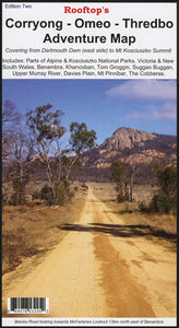 Corryong - Omeo - Thredbo Map