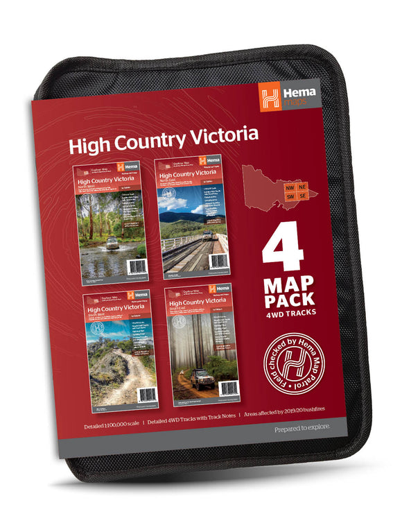 The Victorian High Country Map Pack