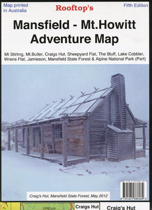 Mansfield - Mt Howitt Adventure Map