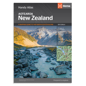 New Zealand Handy Atlas (6th Edition)
