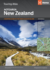 New Zealand Touring Atlas Ed.6