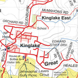 Mt Disappointment - Kinglake Ranges Map