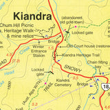 Kosciuszko Northern, Kiandra, Tumut Map