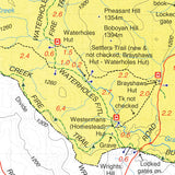 Namadgi - ACT South Map